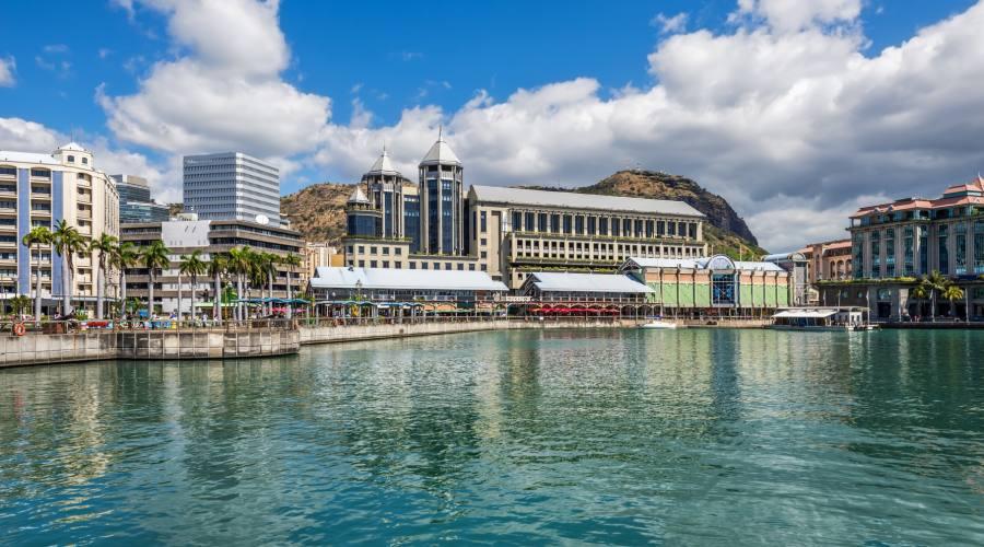 Port Louis, la capitale di Mauritius