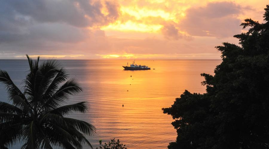 Noumea, Nuova Caledonia di notte