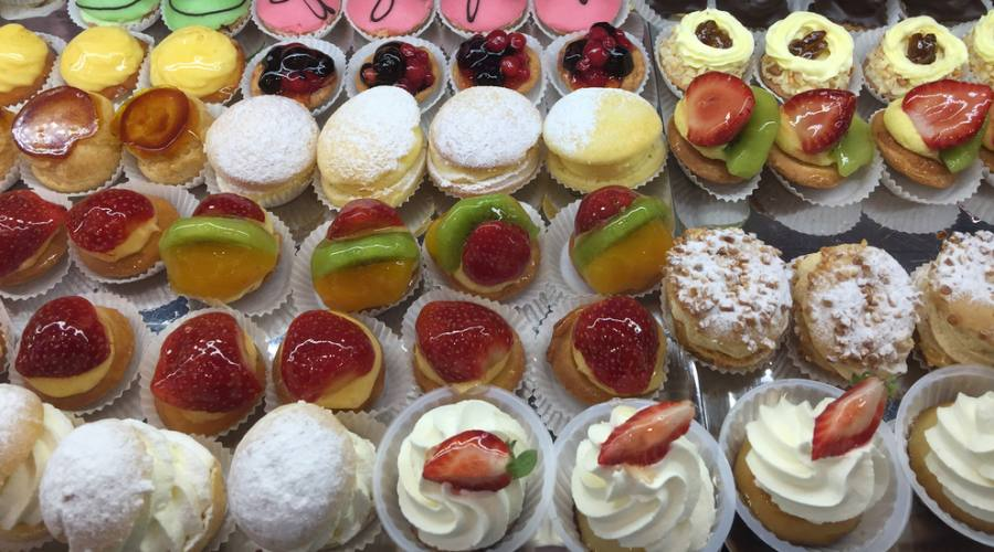 French pastries, Noumea, New Caledonia