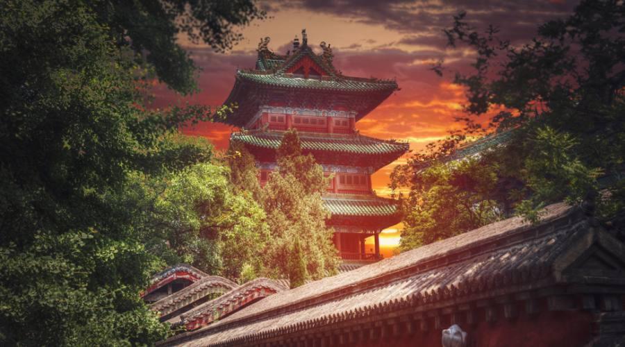 Tempio Kung Fu di Shaolin