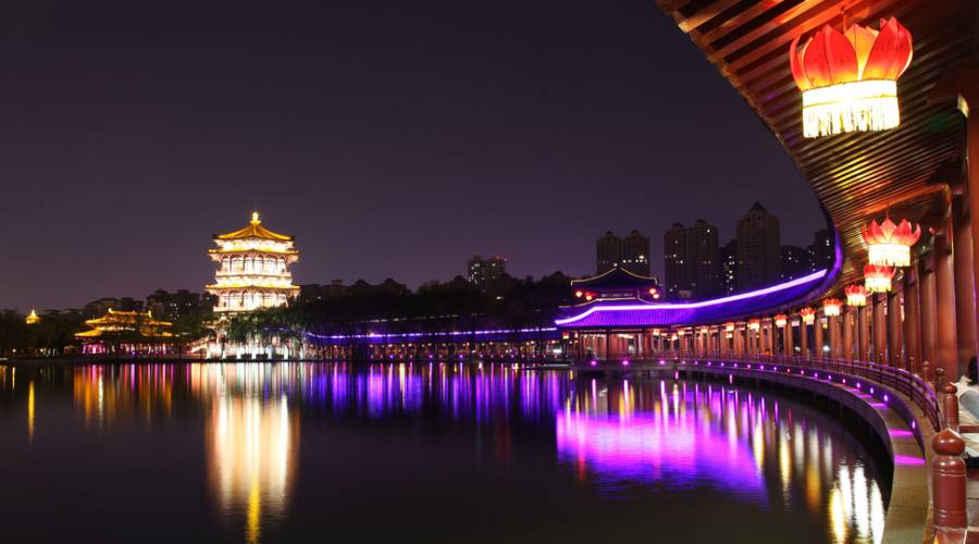 Xi'An di notte