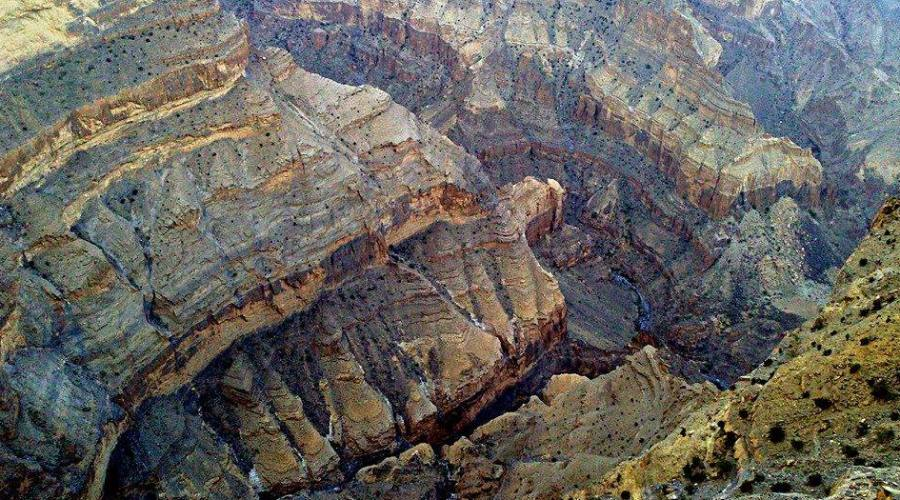 Canyon a Jabal Akdar