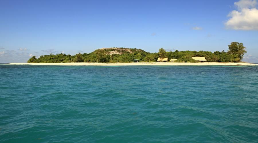 Il resort dal mare