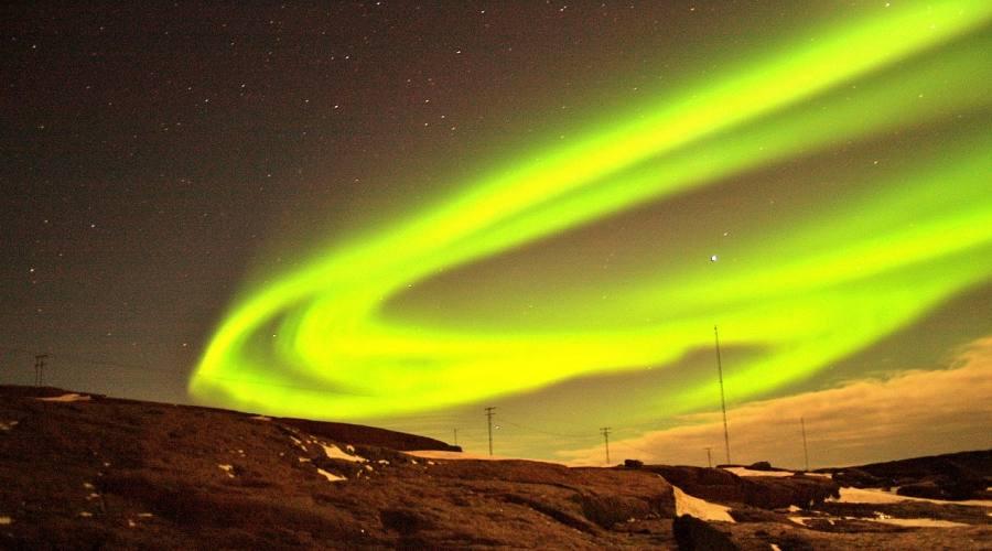 I colori dell'aurora boreale