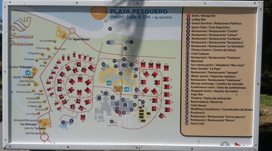 Mappa del villaggio