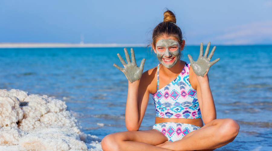 Fanghi sul Mar Morto