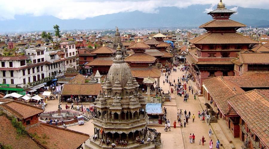 Panorama di Kathmandù