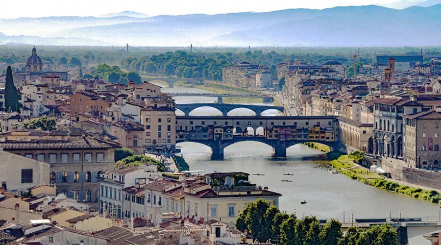 Panoramica sull'Arno