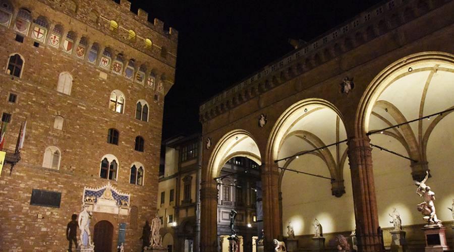 Piazza Signoria e Loggia dei Lanzi
