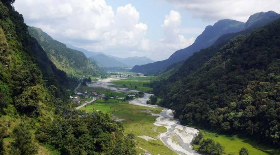 Paesaggio himalayano