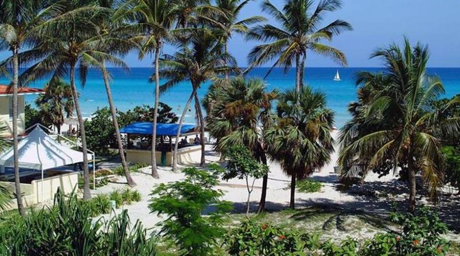 Vista spiaggia
