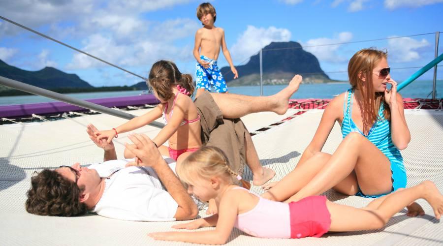 Relax a bordo del catamarano
