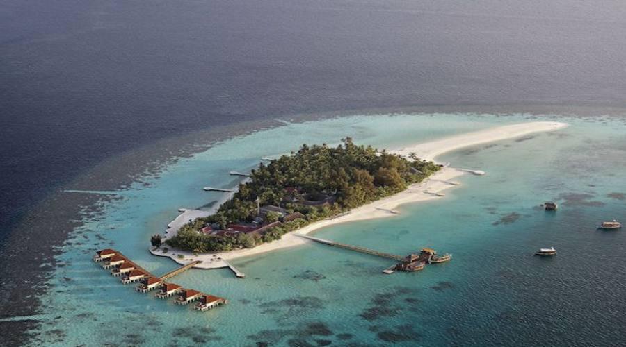 Vista aerea Maayafushi