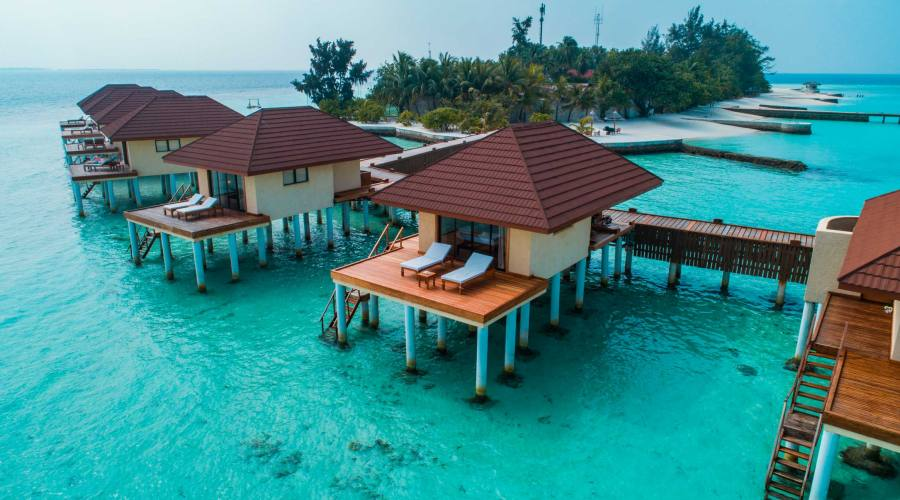 Esterno overwater bungalow
