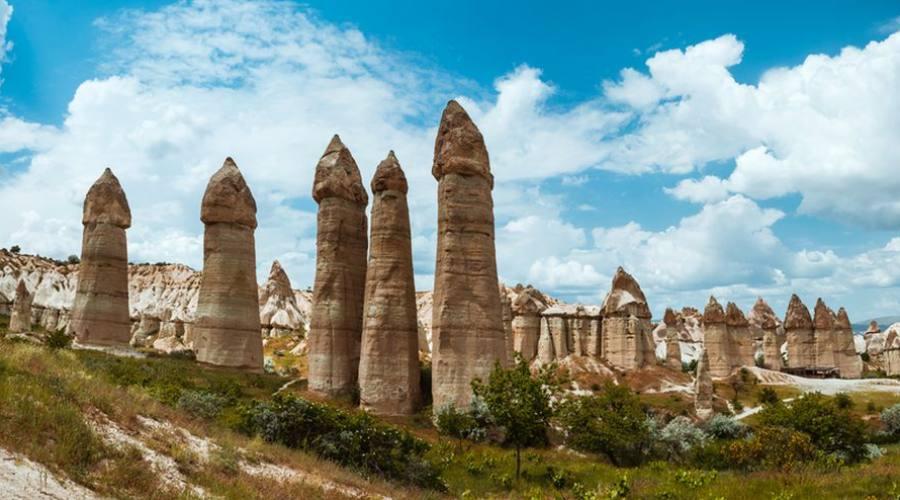 I Camini delle fate a Cappadocia