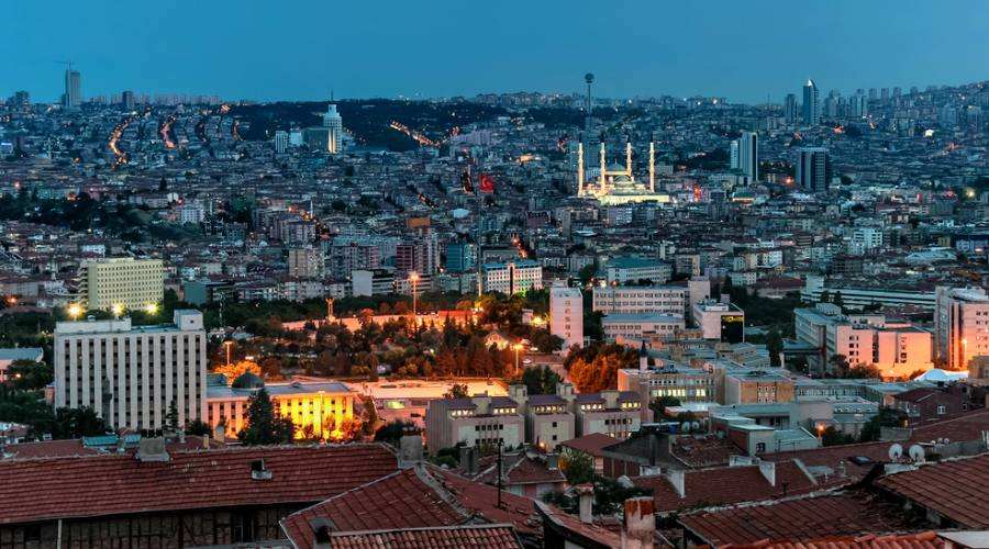 Vista Panoramica di Ankara