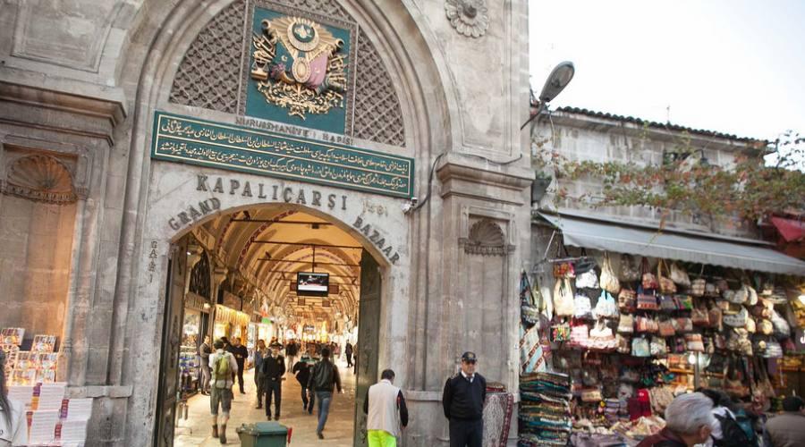 Entrata di Grand Bazaar Istanbul