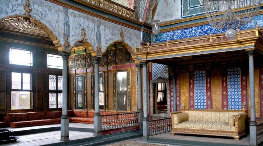 interni palazzo di topkapi
