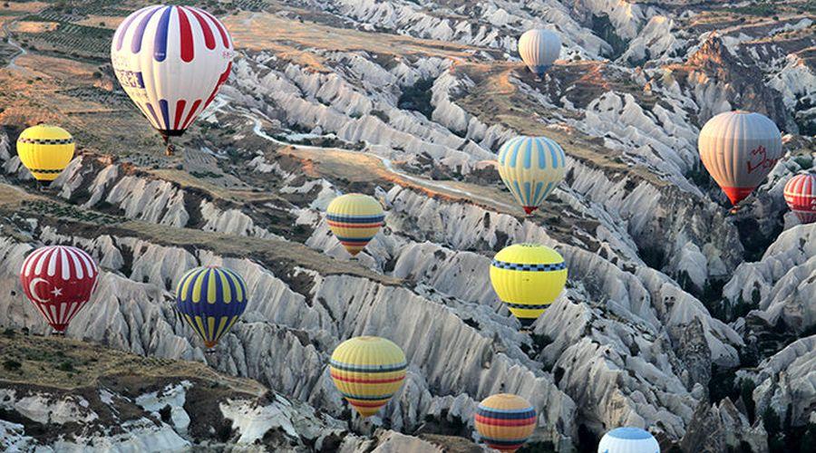 Campo delle mongolfiere Cappadocia