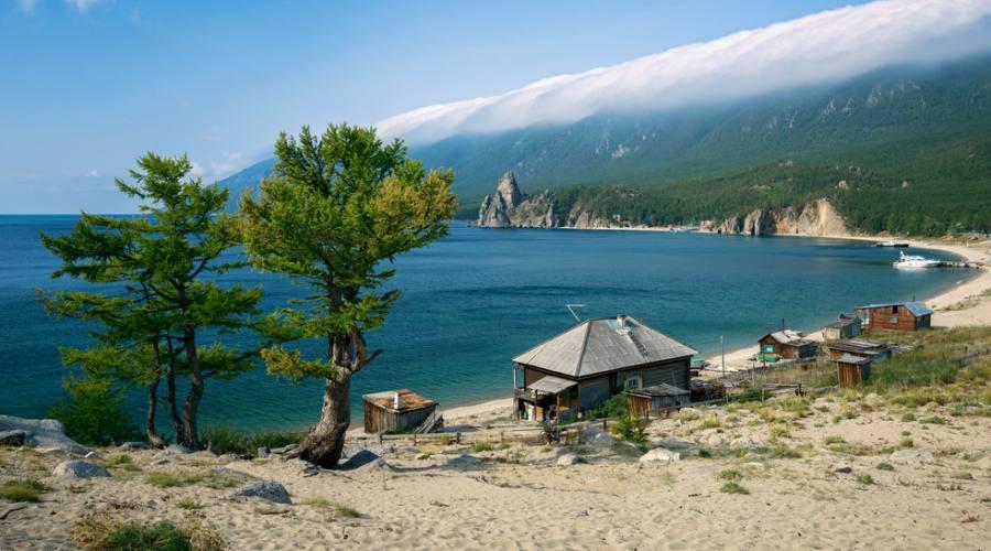 Lago Baikal Campsite Sandy
