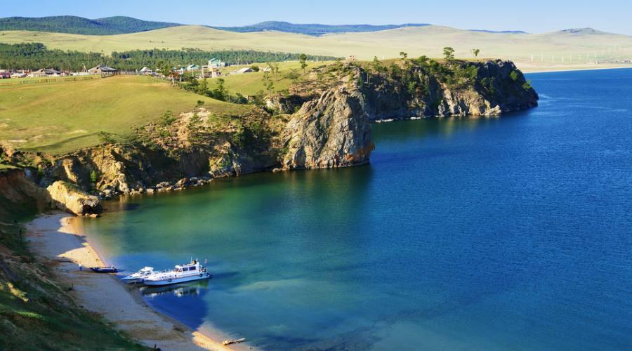 Isola di Olkhon lago Baikal
