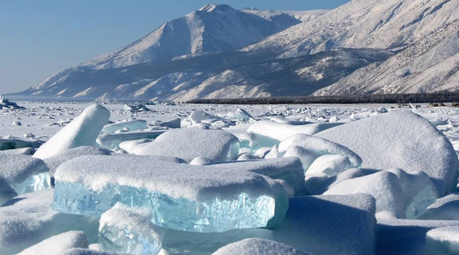 Baikal in inverno
