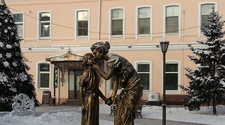 Irkutsk scultura