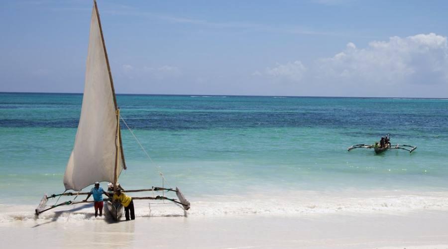 La spiaggia di Kiwengwa