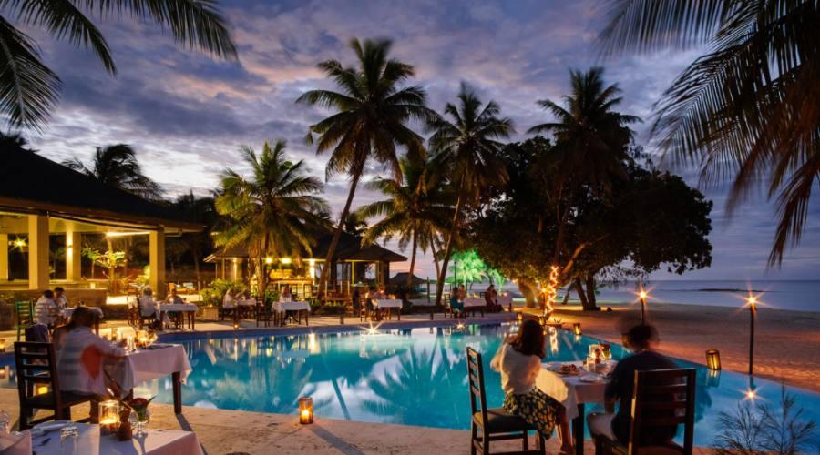 Yasawa island resort restaurant