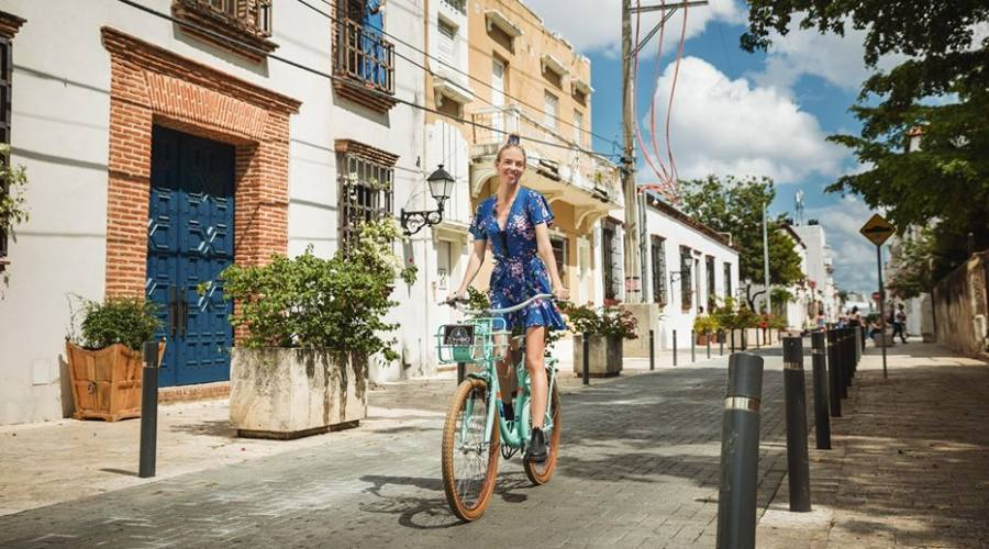 In bicicletta a Santo Domingo