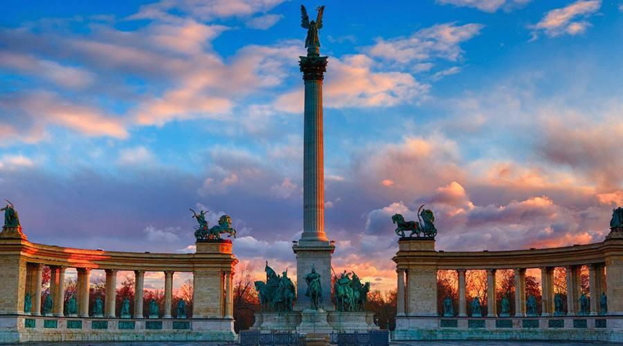 Budapest, Piazzale degli Eroi