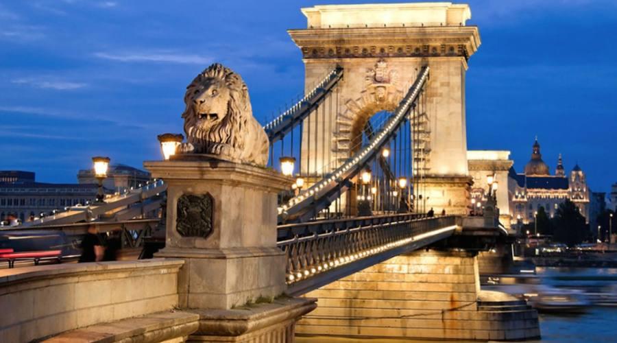 Budapest, le luci