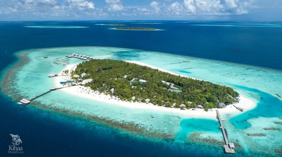 Soggiorno 4 stelle al kihaad village resort prenota for Soggiorno alle maldive