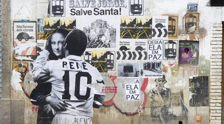 Viaggio di Nozze: Street art nel quartiere di Santa Teresa