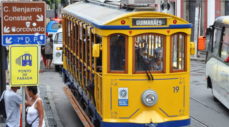 Viaggio di Nozze: il tram del quartiere di Santa Teresa