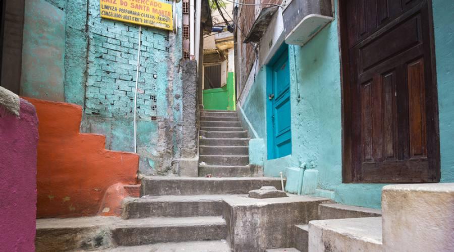 """All'interno della favela di Santa Marta è uno spazio dedicato a Michael Jackson che nel 1995 vi girò il videoclip """"They Don't Care About Us"""""""