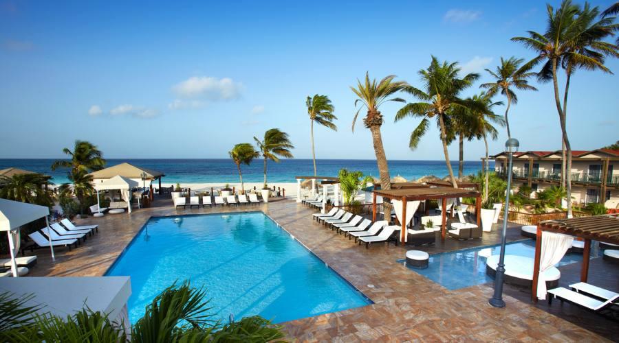 Hotel Tamarijn - la piscina