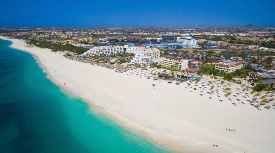 Bucuti & Tara Beach Resort - la spiaggia