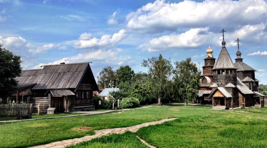 Suzdal antica chiesa di legno