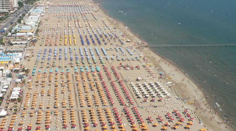 lunga spiaggia