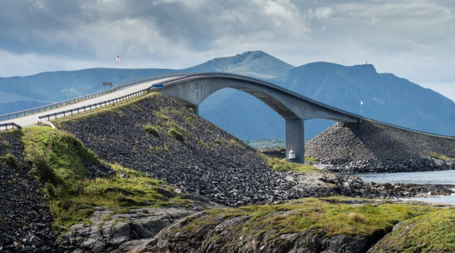 Atlantic Ocean Road - Via dell'Oceano Atlantico, Fly&Drive Norvegia