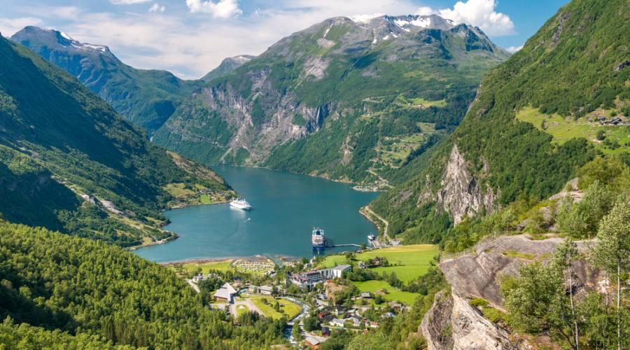 Geirangerfjord, Fly&Drive Norvegia