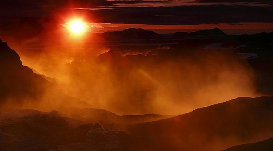 Islanda tramonto