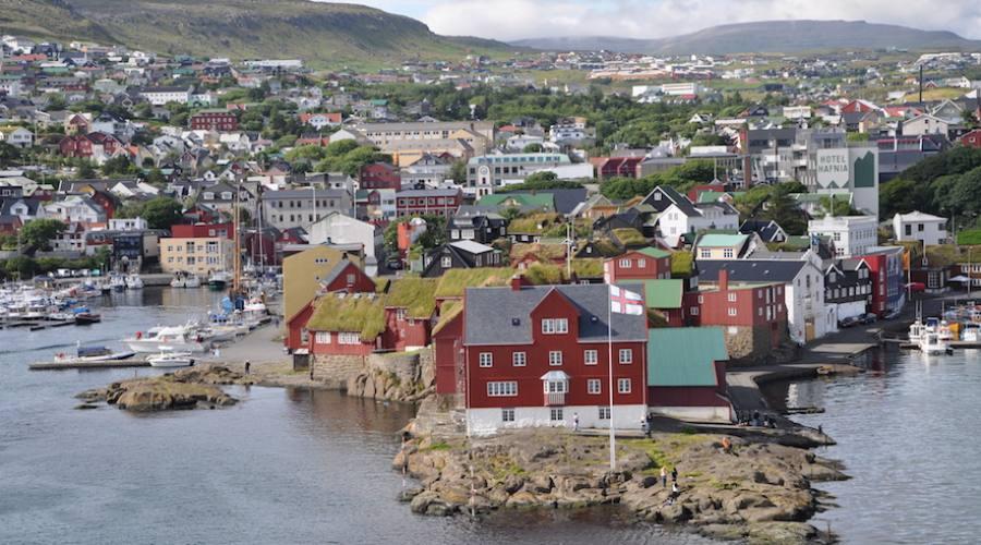 In traghetto per l'Islanda: Faroer
