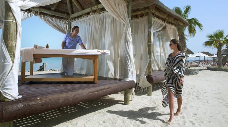 Massaggi sulla spiaggia