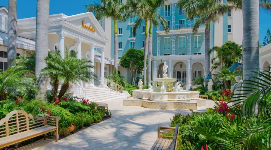 Il giardino del resort