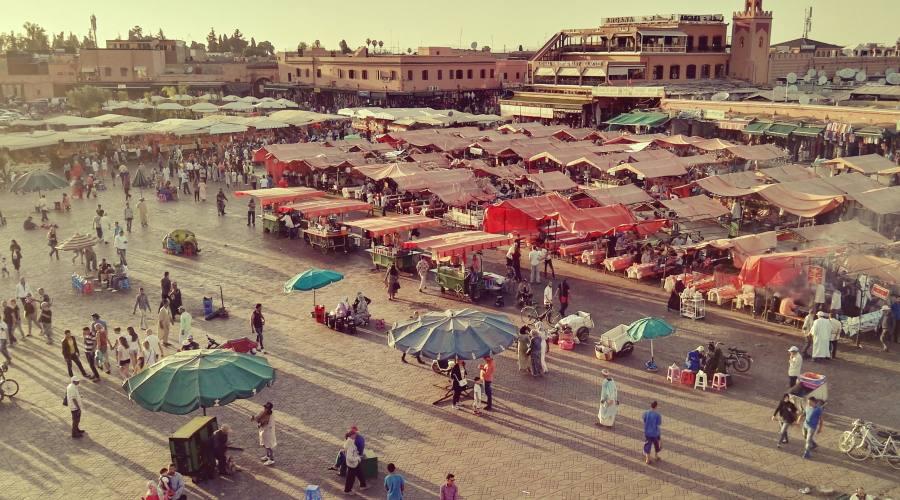 Piazza Jaama El Fna Marrakech