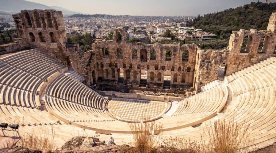 Atene anfiteatro