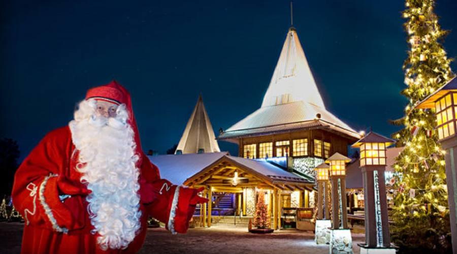Casa Babbo Natale Rovaniemi Finlandia.Vacanza Da Babbo Natale Nella Magia Della Lapponia Finlandese