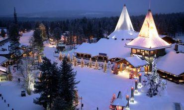 Vacanza da Babbo Natale nella Magia della Lapponia Finlandese!